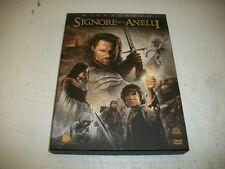 2 DVD-IL SIGNORE DEGLI ANELLI-IL RITORNO DEL RE-3° FILM-PETER JACKSON-