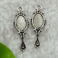 Free Ship 240 pieces tibet silver frame charms 29x10mm #194