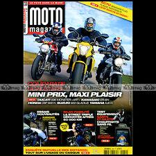 MOTO MAGAZINE N°284 YAMAHA XJ6 N HONDA CBR 1000 RR NC 700 X CBF 600 DUCATI 696