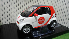 SMART FORTWO 2007 COCA COLA 1/18 Minichamps 150036301 voiture miniature collecti