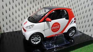 SMART FORTWO 2007 COCA COLA 1/18 Minichamps 150036301 voiture miniature collecti