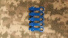 Five Pack of Rubber Fill Nipple Covers Blue ~Nos~