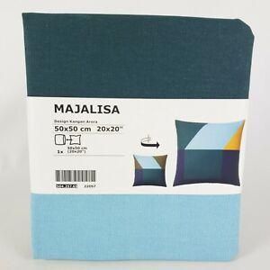 "Ikea MAJALISA Abstract Pillow Cushion Cover 20"" x 20"" Multi New"