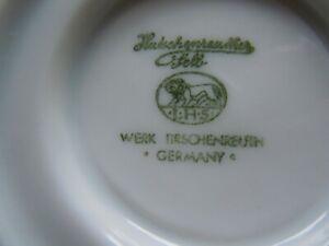 Hutschenreuther selb Werk Tirschenreuth: Kaffee/Tee Service - 21 teilig -