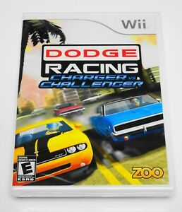 🏎️ DODGE RACING: Charger vs. Challenger 🏎️ (Nintendo Wii 2009) NEW SEALED RARE