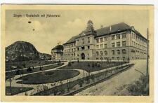 AK Singen, Realschule mit Hohentwiel, Feldpost 1917