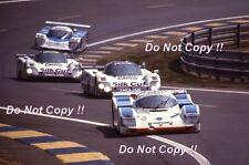 Hobbs & Theys & Konrad Joest Racing Porsche 962C Le Mans 1988 Photograph