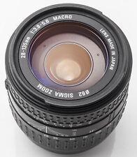 Sigma Zoom 28-135mm 28-135 mm 3.8-5.6 Macro IF - Canon EOS analog & digital