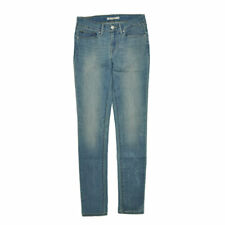 LEVI'S 711 Womens Denim Jeans Skinny Casual Plain Stretch Faded Dirty Look Pant