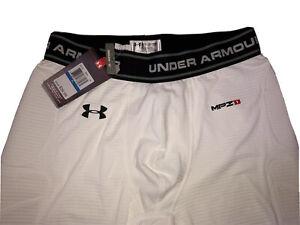 Under Armour MPZ1 Padded Shorts Baseball NWT Compression Heat Gear Men's Sz XL