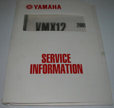 Service Information Yamaha VMX 12 / VMX12 3LRD-SG1 Ausgabe 2001!