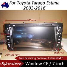 "7"" Car DVD GPS Navigation player head Stereo For Toyota Tarago Estima 2003-2016"