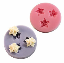 Flowers Silicone Cake Mold Decorating Lace Impression Mat Baking Tool