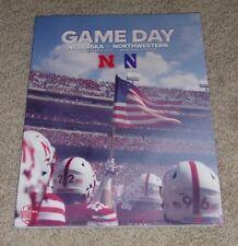 2017 Nebraska vs.Northwestern Wildcats Football Program played 11-4-2017