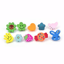 10xMulti-Coloured Cartoon Assorted Push Pins Drawing Cork Board Office SupplyFBC
