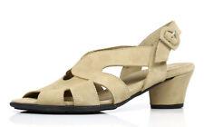 Arche Women's Beige Suede Molyki Sling-Back 2017  Sandals Size EUR 41 US 10