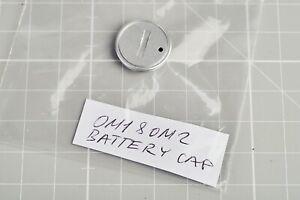 Olympus OM Battery cap/cover, Silver OM1 OM-1n or OM2 OM-2n GENUINE