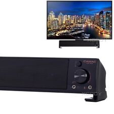 2.0 Channel TV Speaker Soundbar Mini Home Theater Sound Bar System 3.5mm AUX USB