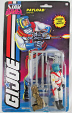 1993 HASBRO STAR BRIGADE G.I. JOE 'PAYLOAD ASTRO-PILOT' FIGURE ON CARD SEALED