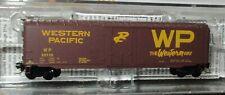 Micro Trains N Scale - Western Pacific Railroad 50' Box Car  #59116 - 50700602
