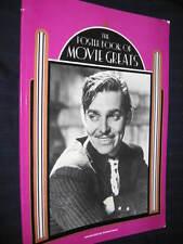 THE POSTER BOOK OF MOVIE GREATS GABLE VIVIEN LANA MONROE HEPBURN COOPER HARLOW
