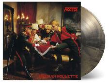 ACCEPT RUSSIAN ROULETTE VINYL LP BLACK GOLD SWIRL LTD 2000 NUMBERED MOVLP2449C