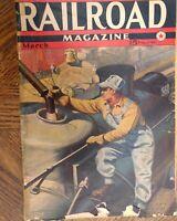 Railroad magazine March 1942 Issue