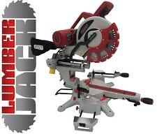 """Professional 305mm 12"""" Double Bevel Sliding Compound Slide Mitre Saw Laser 110v"""