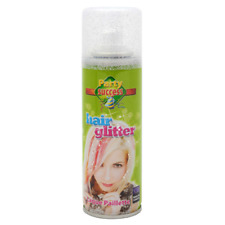 Glittery Hair Spray Dressing up Disco Party Fun Accessories Shimmery Die Colour All 3 Glitter Sprays