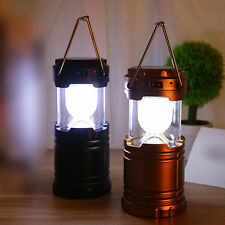 Solar Rechargeable Emergency Light Lantern+ Inbuilt USB Mobile Charger