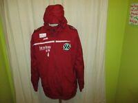 Hannover 96 Original Jako U19 Spieler Kapuzen Wind- Regenjacke,Jacke + Nr.6 Gr.L