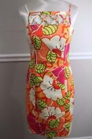 David Meister Women's Colorful Floral Shift Dress Size 6 (DR1000