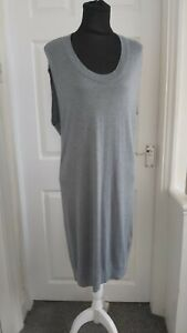 Phase Eight Size XS Grey Sleeves Tunic Tank Top