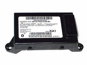 2011-2013 Honda Odyssey HFT Unit; Bluetooth Control Module (KA1) - 39770-TK8-A12