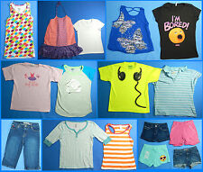 16 Piece Lot of Nice Clean Girls Size 10 Spring Summer Everyday Clothes ss241