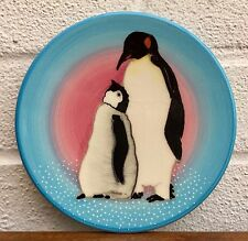 -DENNIS CHINA WORKS- LTD ED' PENGUIN BIRD PLATE DISH by MOORCROFT'S SALLY TUFFIN
