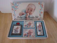 Vintage Babys Own Soap Gift Set Powder Oil Soap