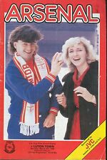 Football Programme - Arsenal v Luton Town - FA Cup Replay - 3/3/1986
