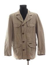 Marlboro Classics Men's Green Linen Polyester Jacket Size EU 54