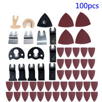 100pcs Oscillating Multi Tool Saw Blades Kit For Fein Makita High Quality