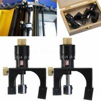 2X verstellbares Hobelmesser Cutter Kalibrator Einstelllehre Messgerät Holz k12l