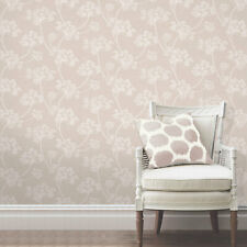 Colours Imogen Earth Floral Smooth Wallpaper DECORATING QUALITY SAME BATCH NEW