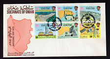 Oman 1975   First Day Cover National  Day Very Good Condition