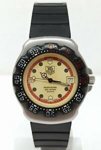 Orologio Tag Heuer professional 200 meters diver watch vintage clock sub montre