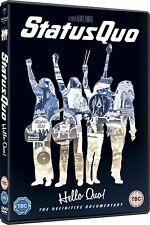 Status Quo Hello Quo Limited Edition DVD The Definitive Documentary Cert 15
