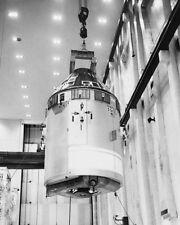 Nasa Apollo 7 Weltraumfahrzeug Kommando Modul 11x14 Silber Halide Fotodruck