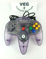 Nintendo N64 Authentic OEM Atomic Purple Controller Tested Canadian Seller