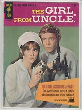 The Girl From U.N.C.L.E. #1 Gold Key 1966 Stephanie Powers Photo Covers.