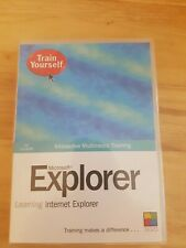 Train Yourself: Microsoft Explorer (PC CD-ROM) NEW STILL SEALED
