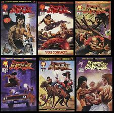 Bruce Lee comic set 1-2-3-4-5-6 lot Malibu Mayerik Jeet Kune Do Ip Man's student